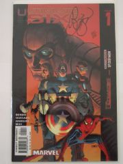 Ultimate Six #1 Dynamic Forces Signed Brian Michael Bendis DF COA Ltd 599 Spider-man Marvel comic book